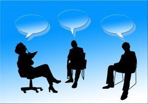 Moderation Gespräch