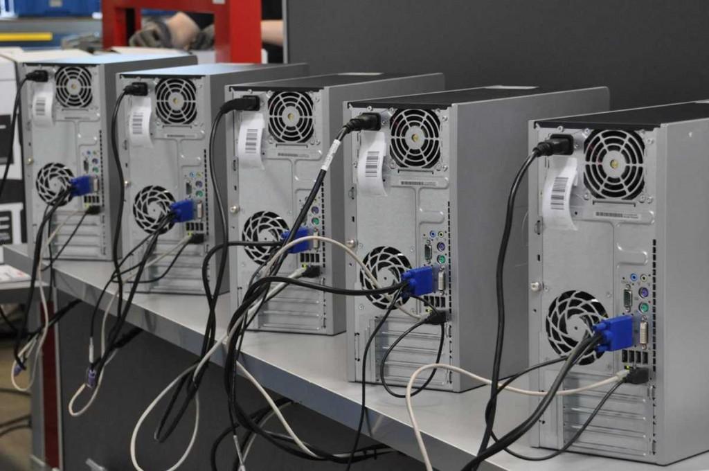 PCs werden bei BB-Net aufbereitet