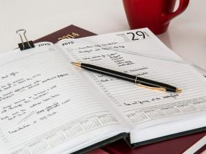 Mit einem Erfolgsjournal ist Disziplin leichter