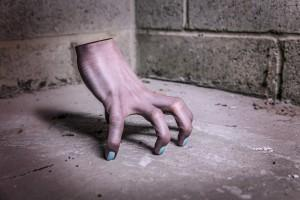 eine Hand